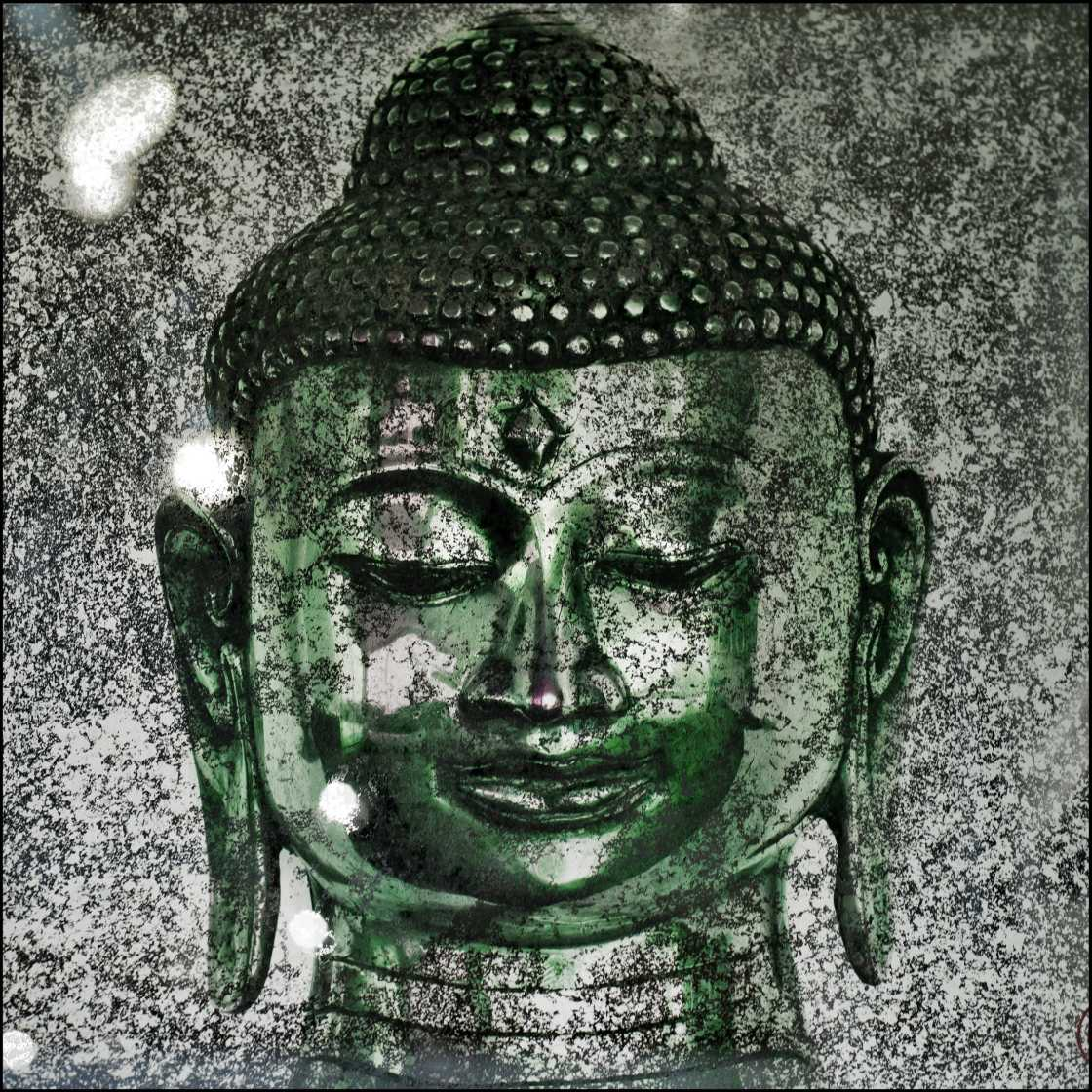 \'Silver Green Buddha\' Part of the Schuster Ommanney \'American Buddha\' Series