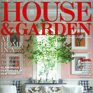 House & Garden magazine, Jul 2010