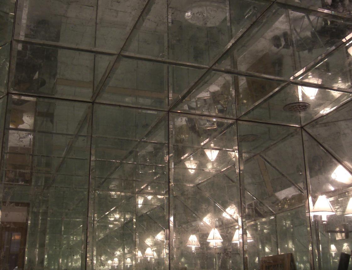 Eglomise Glass
