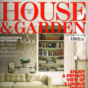 Home & Garden magazine, Feb 2010