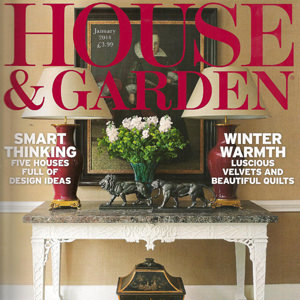 House & Garden magazine, Jan 2014