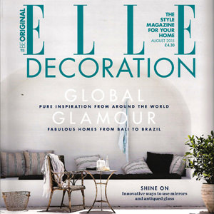 Elle Decoration, August 2015